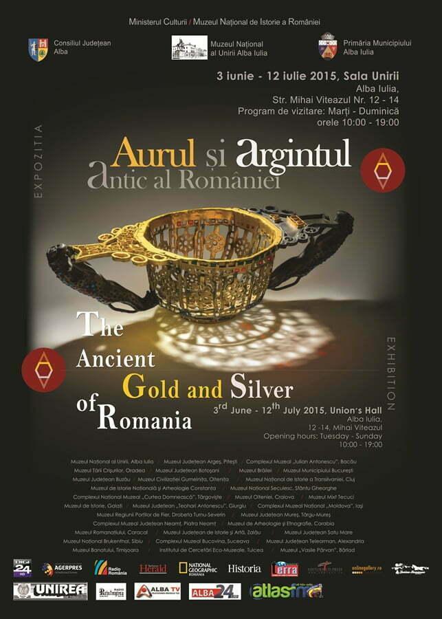 50x70 afis romana alba iulia si in engleza