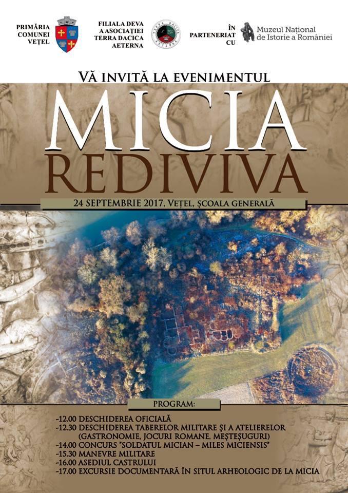 """Prima ediție a Festivalului """"Micia Rediviva"""""""