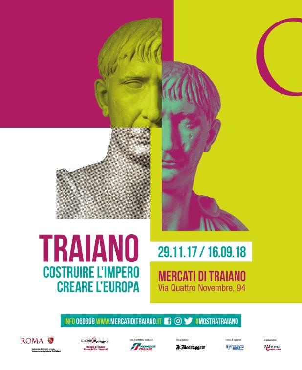"""Muzeul Național de Istorie a României prezent în cadrul expoziției internaționale """"Traiano. Costruire l'Impero, creare l'Europa""""ce se deschide la Roma, Italia"""