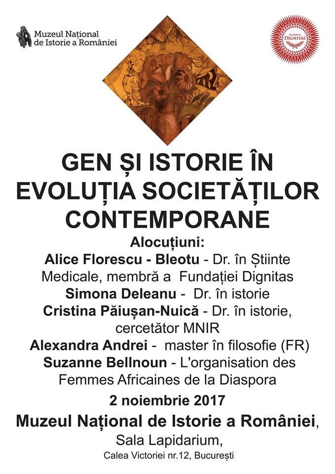 Gen și istorie în evoluția societăților contemporane