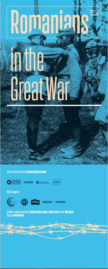 """Deschiderea expoziției temporare """"Românii în Marele Război"""" la Muzeul Național al Armatei din Chelsea, Londra, Regatul Unit al Marii Britanii și al Irlandei de Nord"""